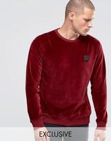Religion Velour Sweatshirt