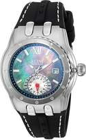 Elini Barokas Women's 'Genesis Vision' Swiss Quartz Stainless Steel and Silicone Automatic Watch, (Model: 20029-01)