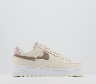 Nike Force 1 07 Trainers Light Orewood Artic Pink