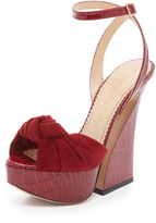 Charlotte Olympia Vreeland Open Toed Sandals