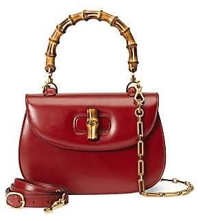 Gucci Women's Medium Bamboo Classic Top Handle Shoulder Bag