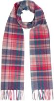 Barbour Vintage Winter Plaid Lambswool Scarf