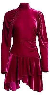 Rotate by Birger Christensen Women's N.25 Velvet Mini A-Line Dress