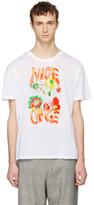 Stella McCartney White 'Nice One' T-Shirt