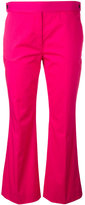 No.21 flared cropped trousers - women - Cotton/Spandex/Elastane - 42
