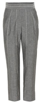 Brunello Cucinelli Striped wool and linen trousers