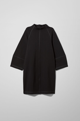 Weekday Cristina Dress - Black