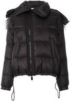 Sacai padded jacket - women - Feather Down/Nylon/Polyester/Lamb Fur - 2