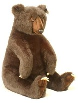 The Well Appointed House Hansa Toys Stuffed Brown Bear