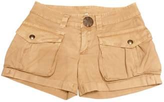Dondup Beige Cotton Shorts