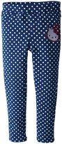 Hello Kitty Terry Pants (Toddler/Kids) - Navy-3T