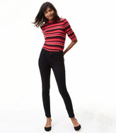 LOFT Tall Performance Denim Leggings in Black