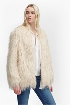 French Connection Marissa Faux Fur Coat