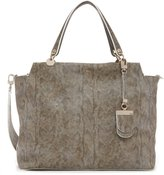 GUESS Andie Faux-Snakeskin Carryall