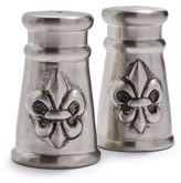 Sur La Table Fleur De Lys Salt and Pepper Shaker Set