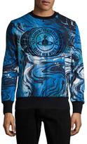 Vivienne Westwood Cotton Printed Sweatshirt