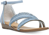 Carlos by Carlos Santana Tempo Embellished Two-Piece Sandals