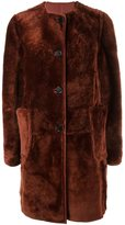 Marni reversible shearling coat - women - Sheep Skin/Shearling - 40