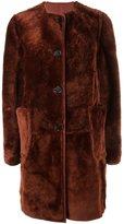 Marni reversible shearling coat - women - Sheep Skin/Shearling - 40