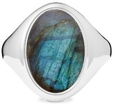 Shinola Women's Statement Labradorite Signet Ring