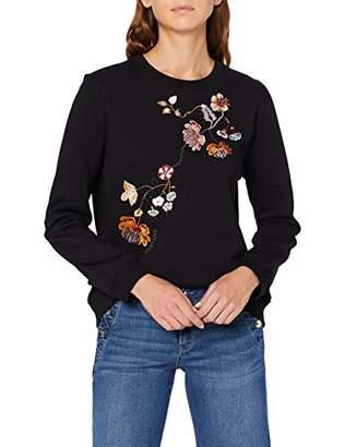 Mustang Women's Bea C Fancy Embro Sweatshirt,L