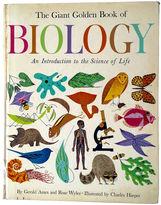 One Kings Lane Vintage Giant Golden Book of Biology, C. Harper