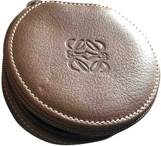 Loewe Brown Leather Home decor