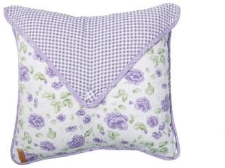 Donna Sharp Lavender Rose Envelope Decorative Pillow