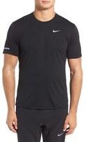 Nike Men's 'Contour' Mesh Dri-Fit Running T-Shirt