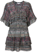 IRO snakeskin print mini dress - women - Silk - 34