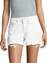 Calvin Klein Jeans Cotton-Blend Denim Shorts