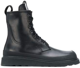 Bottega Veneta lace-up work boots