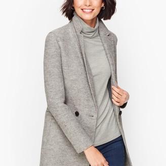 Talbots Long Boiled Wool Jacket