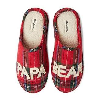Dearfoams Men's Papa Bear Clog Slipper - Charming