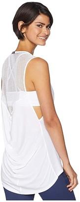 Michi Molten Top (White) Women's Clothing
