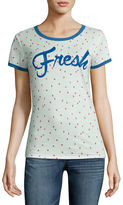 Arizona Fresh Strawberries Graphic T-Shirt- Juniors
