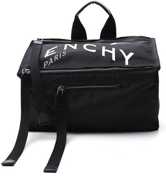 Givenchy Logo Print Messenger Bag
