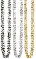 Z Designs Multi Strand Metal Bead Necklace