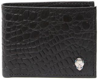 Robert Graham Spectator RFID Croc Embossed Leather Bifold Wallet