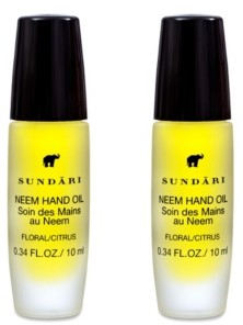 Sundari Neem Oil Hand And Cuticle Treatment - 2 Pack