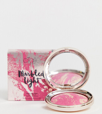 Ciaté London X ASOS EXCLUSIVE Marbled Light Illuminating Blush - Bloom