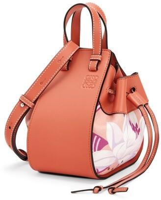 Loewe x Paula's Ibiza Mini Hammock Drawstring Waterlily Bag