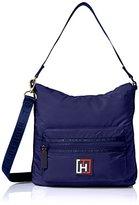 Tommy Hilfiger Nylon Small Hobo Bag