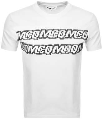 McQ Logo T Shirt White
