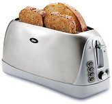Oster TSSTTR6330-NP 4 Slice Long Slot Toaster, Stainless Steel by