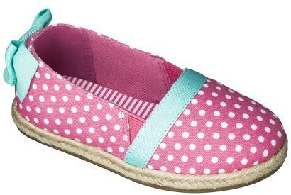 Circo Toddler Girl's Jillian Canvas Sneakers - Coral