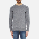 Barbour Cotton Staple Crew Knitted Sweater Navy