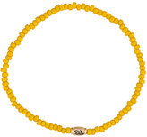 Luis Morais Small Horus Eye Barrel beaded bracelet