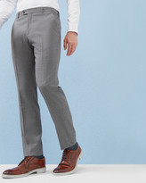 Debonair Fashion Fit Wool Trousers