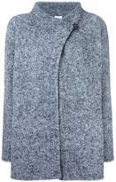 Armani Collezioni high neck wrap coat